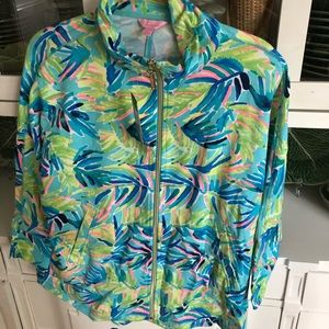 NWT Deedee Lilly Pulitzer jacket small luxletic